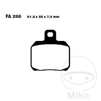 EBC Carbon Scooter Brake Pads SFAC266