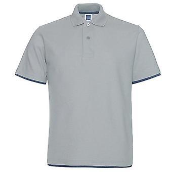Férfi póló ing, nyári ruházat tiszta pamut, alkalmi rövid ujjú, lélegző
