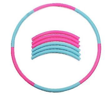 Een hoelahoep speciaal ontworpen voor kinderen, een afneembaar sport speelgoed met verstelbare gewicht en grootte, geschikt voor fitness, gymnastiek, dans, spelletjes