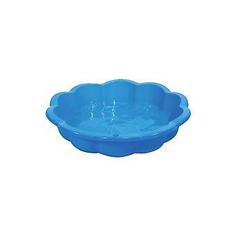 Sandpit - coajă de piscină - 85L - 94x91,5x21cm - albastru