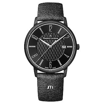 Maurice Lacroix Eliros X Adeline Ziliox Limited Edition Datum 40mm Zwart EL1118-PVB01-320-2 Horloge