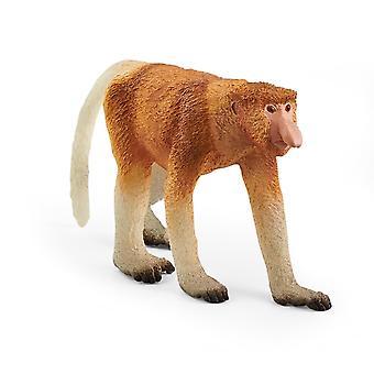 Schleich 14846 Proboscis Monkey Animal Figure Wild Life