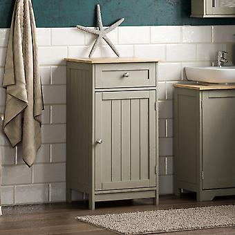 Priano 1 Door 1 Drawer Freestanding Cabinet Unit, Grey
