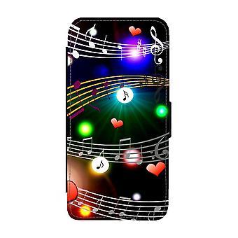 Musiikki Samsung Galaxy S21 Ultra Wallet -kotelo