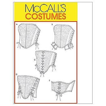 McCalls نمط الخياطة 4861 يفتقد كورسيس الحجم 6-12 uncut