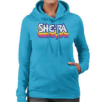 She-Ra Multicolour Logo Women's Hooded Sweatshirt