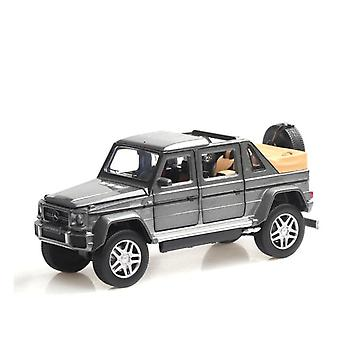 Benz G650 Alloy Open Car Off Vehicle Toy(Gray)