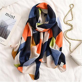 Autumn Winter Women Scarf Beach Shawl Cotton Lady Fashion Scarves