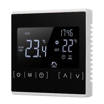 Monitoiminen LCD-näyttö Älykäs Termostaatti Sähköinen lattialämmitys termostaatti Kodin lämpötilan säädin