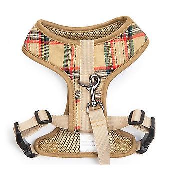 Huisdier harnas en riem verstelbare vest harnas met voor kat hond kitten puppy konijnen maat XL