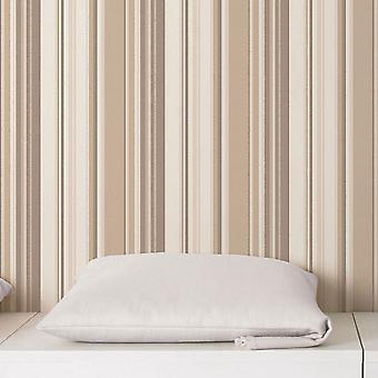 Global Fusion GF Stripe Wallpaper Brown G56409