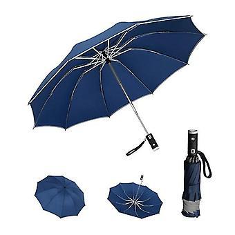 Windproof Umbrellas  Automatic Umbrella(Blue)