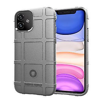 Tpu carbon fibre case for iphone 11 grey mfkj-1841