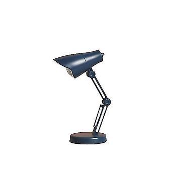 Lâmpada de mesa magnética de luz noturna portátil dobrável azul com proteção ocular x2830