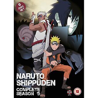 Naruto Shippuden Complete Series 5 Box Set Episodes 193-243 DVD