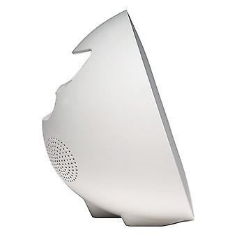 Uhr-Radio Denver Elektronik CRLB-400 FM Bluetooth LED Weiß