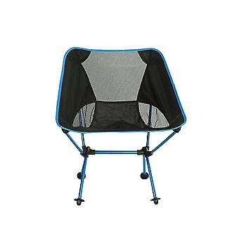 Folding Chair Ultra Light Aluminum Alloy Portable Seat For Camping Fishing  Bbq