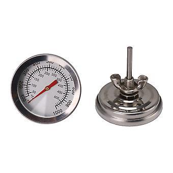 2PCS 100-1000F Barbecue Thermometer 5.2cm Diameter Maatregel Tools M8