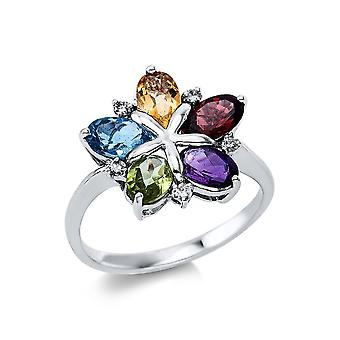 Luna Creation Promessa Ring Farbstein 1V674W854-1 - Ringweite: 54