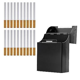 ブラック アルミニウム メタル シガー シガー シガー ボックス ホルダー タバコ 収納 ケース ギフト