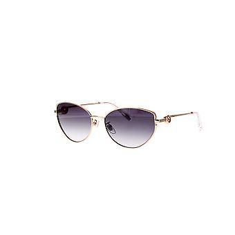 Chopard SCHF07S 0300 Glänsande Totalt Rose Gold / Smoke Gradient Solglasögon
