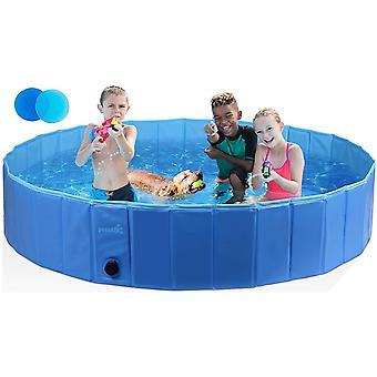 Neu Hundepool Schwimmbad Für Hunde und Katzen,Swimmingpool Hund Planschbecken Hundebadewanne