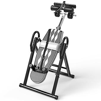 Gravity Inversion Table Waist Inflatable Adjustment Therapy Fitness &  Height
