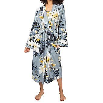 Cyberjammies Rachel 4875 Vestido de algodón floral gris carbón para mujer