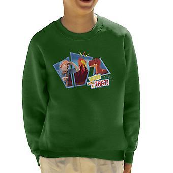 Blippi Dinosaurs Wow Look At That Kid's Sweatshirt