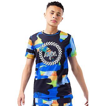 Hype Boys Colour Paint T-Shirt