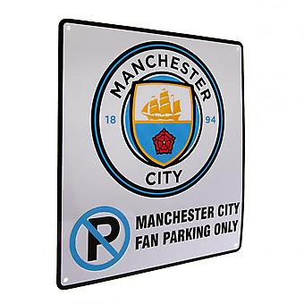 Manchester City FC Geen Parkeerbord