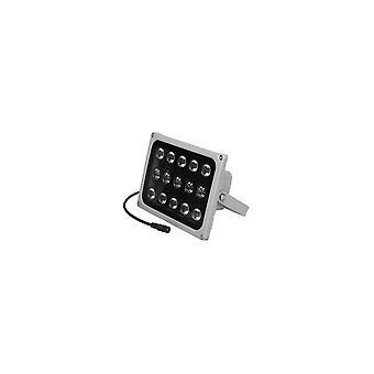 15pcs LED Night Vision IR infrarood illuminator licht 12V voor CCTV beveiligingscamera IP65