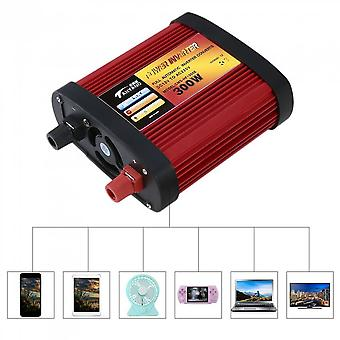 Car Power Inverter Dc12v To Ac220v With 2 Usb Ports+ac Outlet 300w/500w/1000w