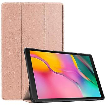 Suitable For Samsung Pad Tab A 10.1 T510/t515 2019 Tablet Protective Case --rose Gold