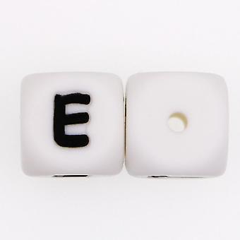 Pärlor baby teether pärlor tugga alfabet pärla för namn tänder halsband