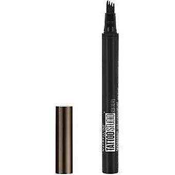 Maybelline TattooStudio Brow Tint Pen Makeup, Deep Brown, 0.037 fl. oz.