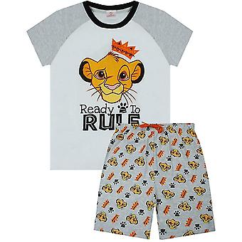 The Lion King Boys Ready To Rule Short Pyjama Set