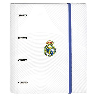 Ring binder Real Madrid C.F. A4 Blue White