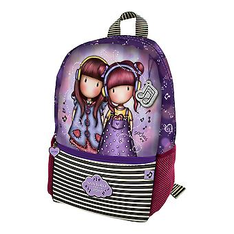 Sac à dos décontracté Le Duo Gorjuss Purple