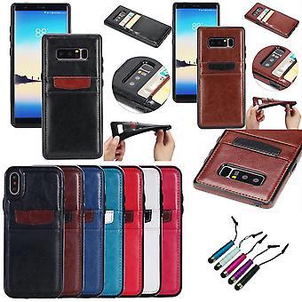 Samsung Galaxy S9-Leder Brieftasche Fall
