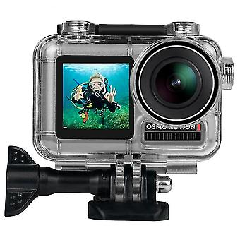 Venalisa 40m Waterproof Protective Case Shell Bike Mount Sticker For Dji Osmo Action Sports Camera