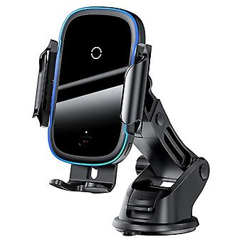 Car Wireless Charger For IPhone 11 Samsung Xiaomi 15W Induction Car Mount Fast  Chargers(Black)