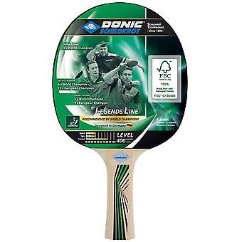 Donic Schildkrot Legends 400 FSC Table Tennis Paddle Bat ITTF Approved Racket