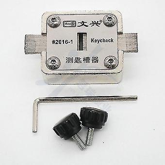 Locks latches wenxing key check groove testing tools keys way checker locksmith tools