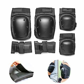 Sports Protective Gear Set Of Sports Protectors With Elbow Pads, Wrist Guards, Knee Pads And For Child, Teenager And Adult S  13-30kg