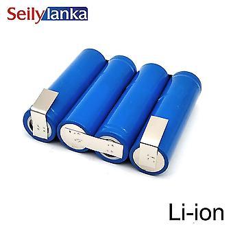 3000mah voor Gude 14.4v Li-ion Battery Pack Flba18a1 Heggenschaar Grasmaaier