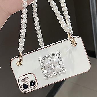 Venalisa pasuje do Iphone11 Etui na telefon komórkowy Pure Color Simple Pearl Stand
