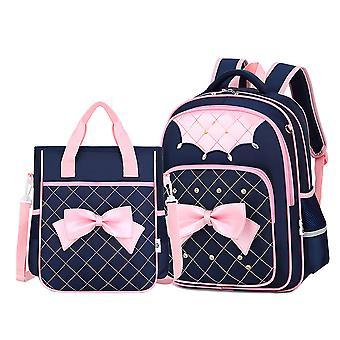 Ensemble de sac à dos de princesse d'école de filles