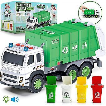 Müllwagen-Spielzeug im Maßstab 1:12