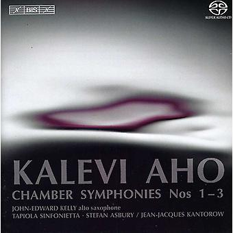 K. Aho - Kalevi Aho: Chamber Symphonies Nos. 1-3 [SACD] USA import